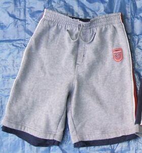 Boy's youth size 10/12 quality grey athletic gym shorts