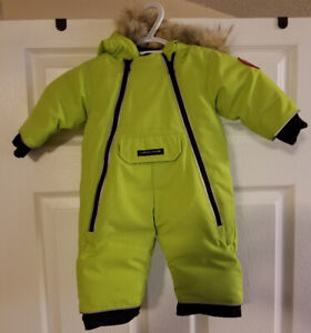 Authentic Canada Goose Toddler Jacket Size  0 to 3 Months