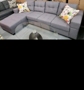 Brand New In Box Grey Sofa Sectional