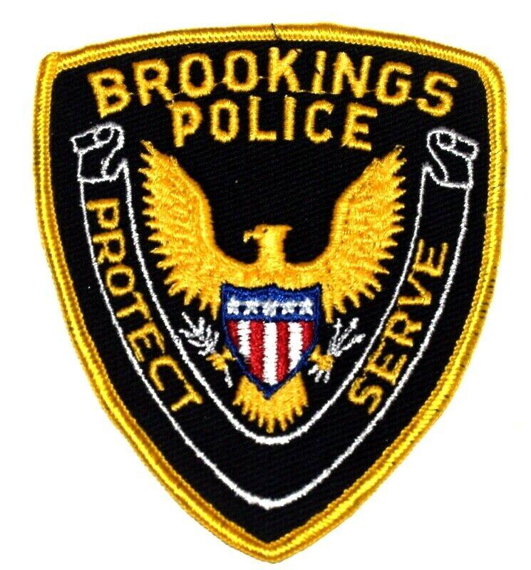 BROOKINGS SOUTH DAKOTA SD Sheriff Police Patch GOLDEN EAGLE ~