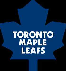 Maple Leafs Tickets - Safe, Honest, Hard-Working Canadian