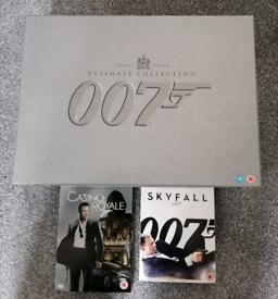James Bond Ultimate Collection Plus Extra DVD and Blu-ray