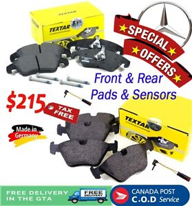 Special Offer for Front & Rear brake pads & sensors - Mercedes C Cornwall Ontario image 1