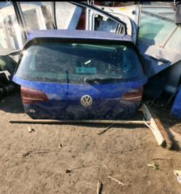 Vw golf mk7 7.5 R gti gtd Tdi tailgate bootlid lapiz blue 13-20