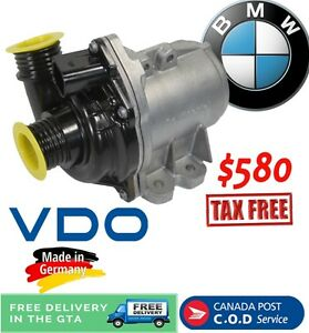 BMW Electric Engine Water Pump VDO 100% Germany - N54 - N55