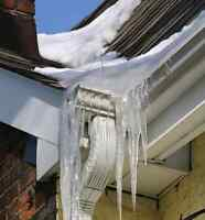 Eavestrough Gutter Cleaning and Repair