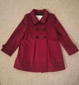 Burberry toddler girl coat