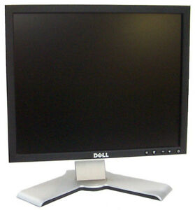 17 dell flat screen monitor