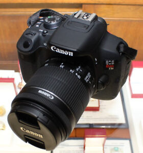 CANON EOS REBEL T5i DIGITAL CAMERA & 18-55MM LENS