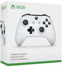 Genuine Microsoft Xbox One S White Wireless Bluetooth Controller TF5-00001