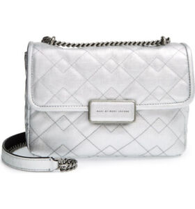 Marc by Marc Jacobs Rebel 24 Bag - Silver ($175)