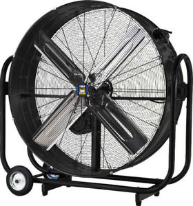 NEW 36 in. Tilting Drum Fan With Enclosed Motor