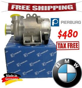 BMW Electric Engine Water Pump PIERBURG 100% Germany - N52