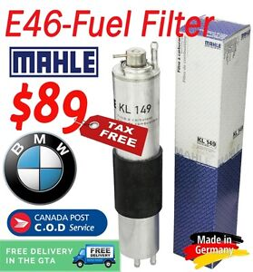 BMW Fuel Filter With Fuel Pressure Regulator (E46) Kawartha Lakes Peterborough Area image 1