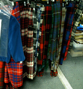Wool Kilts made in Scotland