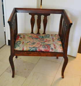 19th Century Renaissance Style Carved Square Armchair