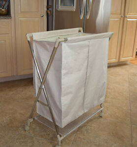 Laundry Hamper / Sorter (on wheels)