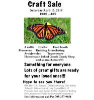 Annual Spring Craft Sale
