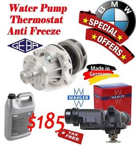 Special offer - BMW -Water Pump- Thermostat - Anti Freeze Stratford Kitchener Area image 1