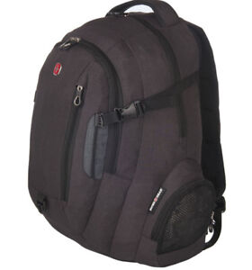 Swiss Gear 15.6INCH Backpack - Black/Dark Grey