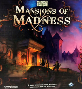 Hand Pinted Mansions of Madness Board Game (first edition)