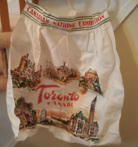 "Vintage Canadian National Exhibition ""CNE"" Apron"