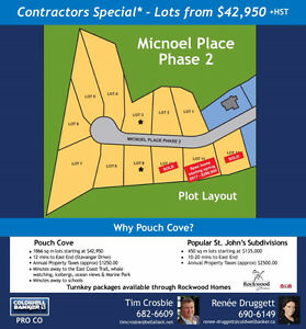 Lots For Sale - Micnoel Place, Pouch Cove St. John's Newfoundland image 1