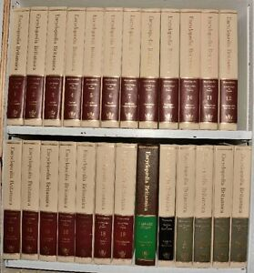 Encyclopaedia Britannica with year and science volumes