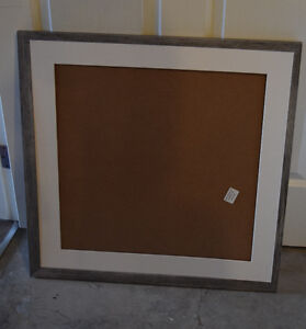 24 by 24-Inch Picture Frame, Smooth Grain Finish, 1.26-Inch Wide