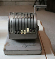 Old Paymaster Machine ~ $25