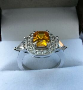 14K Custom White Gold Ring