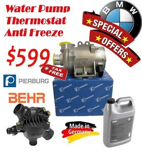 Special offer - BMW N52 -Water Pump- Thermostat - Anti Freeze Strathcona County Edmonton Area image 1
