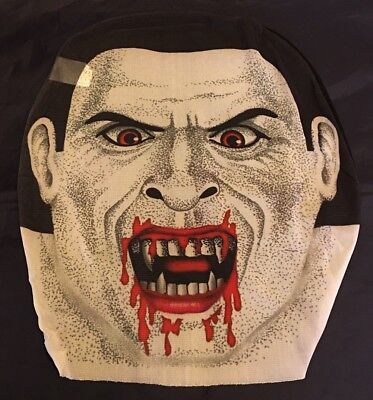 Halloween Vampire Pullover Skin Mask - Sheer Material Adult OSFM - NIP Spooky! - Vampire Masks Halloween