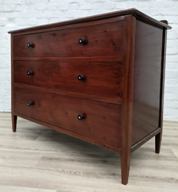 Vintage Mahogany Chest Of Drawers (DELIVERY AVAILABLE)