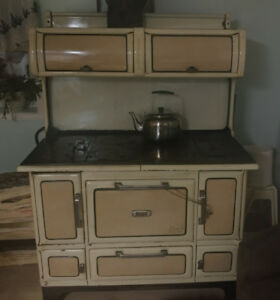 Large Beach woodburning cookstove for sale