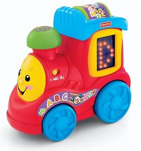 NEW: Fisher-Price Laugh & Learn ABC Train (English Edition)