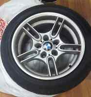 Bmw M  series 4 wheels w/ tires BO accepted Want gone Tomorrow