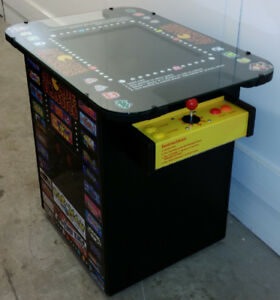 New! Arcade Machine Video Game Tabletop Coacktail Table