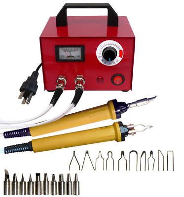 100W 110V Pyrography Machine Gourd Wood Burning Pens Crafts Tools Kit Steel Case