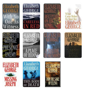 Hardcover Elizabeth George Novels