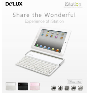 Delux iStation MFI iPad Air/2/3/4 Bluetooth Keyboard