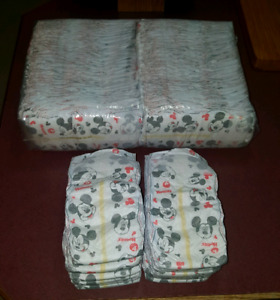 Huggies size 4 diapers