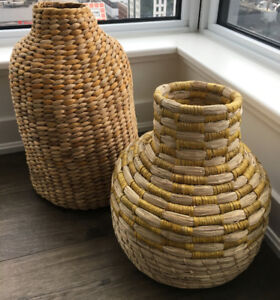 Rattan Baskets Ikea Limited edition (2 units)