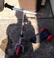 3 wheel scooter, good cond.