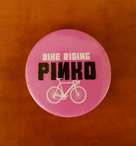 Official Bike Riding Pinko Button
