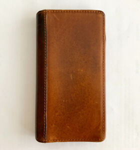 Leather wallet case fits  iPhone 6 or 7