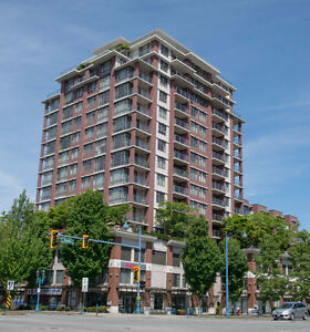 14 yr old high-rise Condo 1 bedroom plus den in Prime Brighouse
