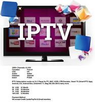 IPTV Subscription 3000 Channels works on VLC Player Androix Box