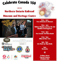 Canada Day 150 Celebration at NORMHC! LIVE MUSIC, BBQ, FIREWORKS