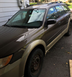 2008 Subaru Outback Dual Brown Wagon